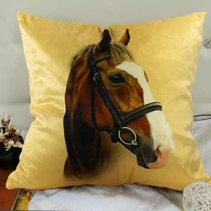 Mustang House Cushion Cover A
