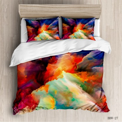 Abstract Fashion Duvet Cover Set  A