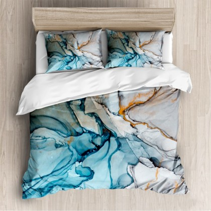 Abstract Fashion Duvet Cover Set E