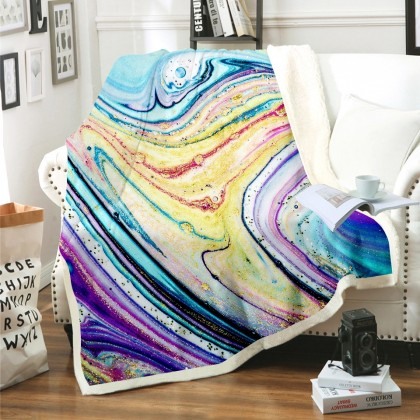 Abstract Marble Blanket