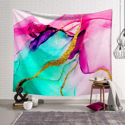 Abstract Marble Tapestry