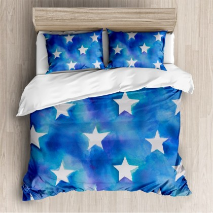 Abstract Stars Fashion Duvet Cover Set