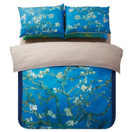 Van Gogh Almond Blossoms Duvet Cover Set
