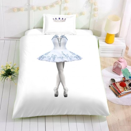 Ballerina Duvet Cover Set