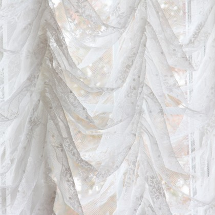 Austrian Lace Love Balloon Curtain