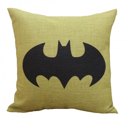 Batman Yellow Cushion Cover