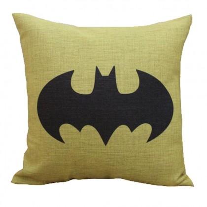 Batman Yellow Cushion Cover