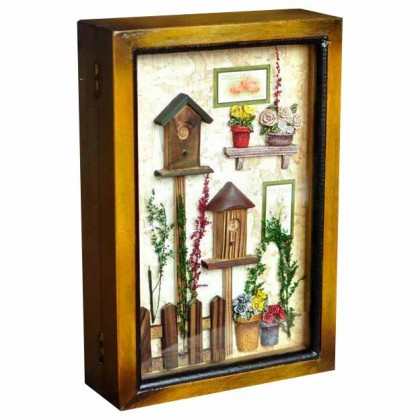 Bird House Wall Cabinet