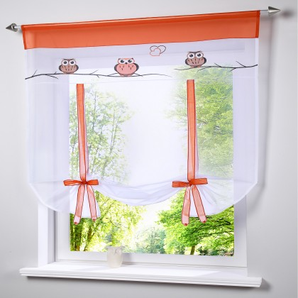 Owl Tie up Balloon Curtain