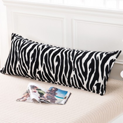 Zebra Stripes Body Pillow Cover