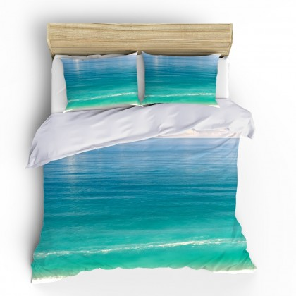 Gradient Ocean Duvet Cover Set