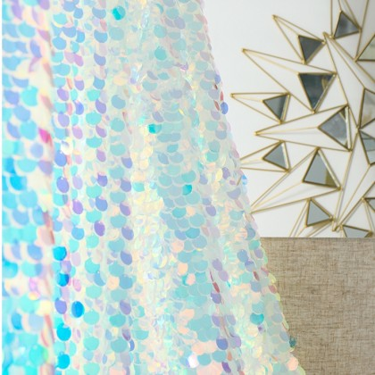 Iridescent Curtain Backdrop