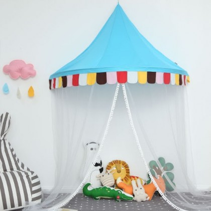 Kids Play Tent Canopy-Blue