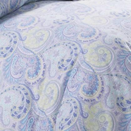 Blue Paisley Sheet Set