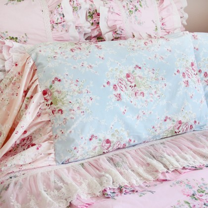 Mermaid Long Ruffle Pillowcase