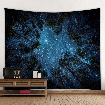 Stars Night Sky Tapestry