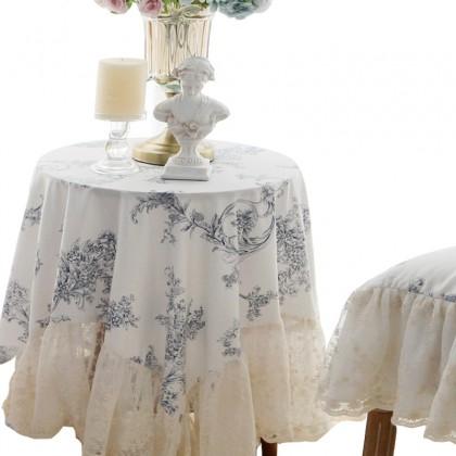 Elegant Lace Tablecloth