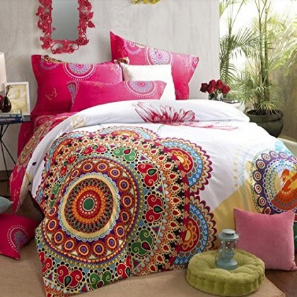 Excotic Boho Duvet Cover Set
