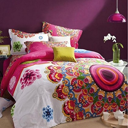 Excotic Boho Duvet Cover Set C