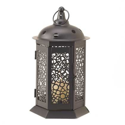Bubbling Up Candle Lantern
