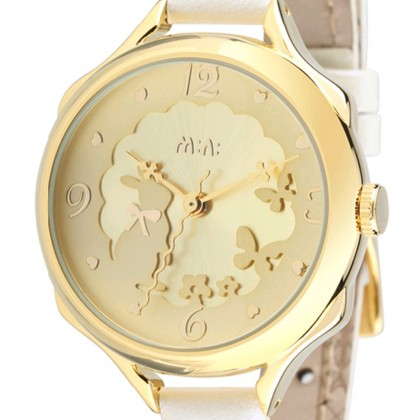 Bunny Rabbit Watch, Gold