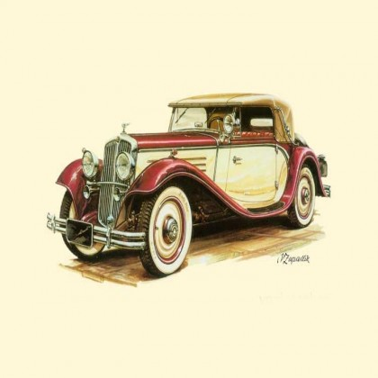 Vintage Car Canvas Print B