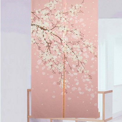 Cherry Blossom Door Curtain