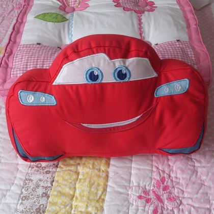 Lightning McQueen Car Pillow