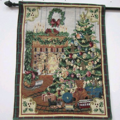 Christmas Tree Wall Hanging Tapestry