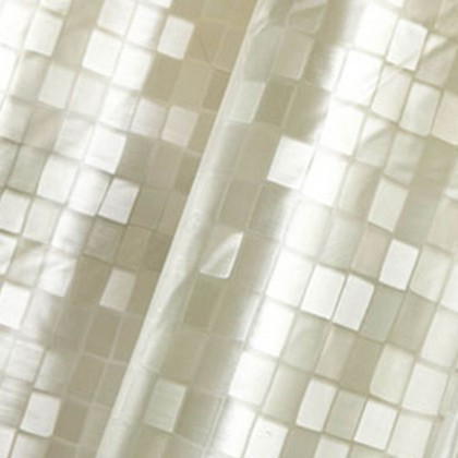 City Block Shower Curtain, Beige