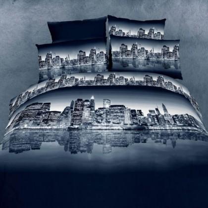 City Night View Bedding Set