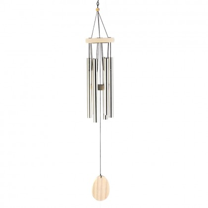 Classic Bleach Wood Wind Chime
