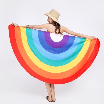 Rainbow Beach Travel Towel