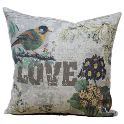 Cottage Love Cushion Cover