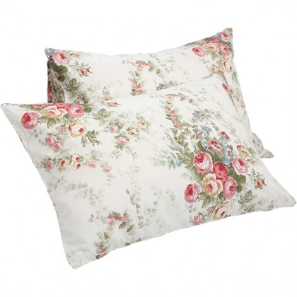 Royal Rose Pillow Sham ( pair)