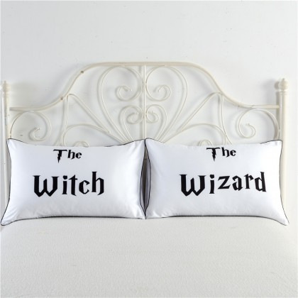 Witch Wizard Pillowcase (1 pair)