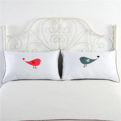 Love Birds Pillowcase (1 pair)