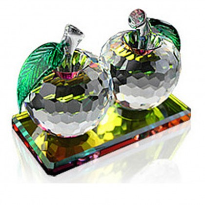 Iridescenct Crystal Apple(Final Sale)