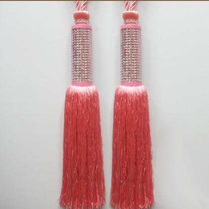 Pink Sparking Jewelled Rhinestone Curtain Tieback