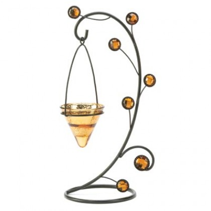 Curli-Cone Tealight Holder