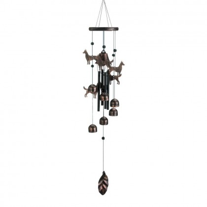 Cute Dogs Wind Chimes