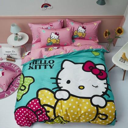 Hello Kitty Bow Duvet Cover Set
