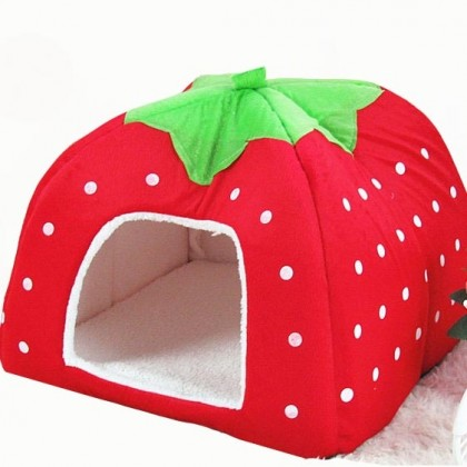 Strawberry Pet House