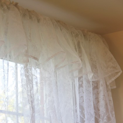 White Chic Valance