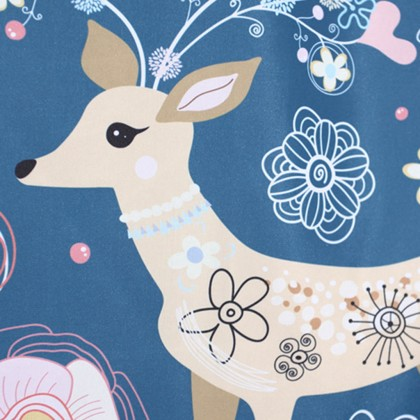 Deer Garden Shower Curtain
