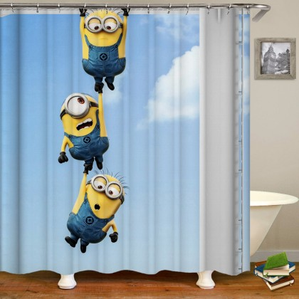 Despicable Me Shower Curtain