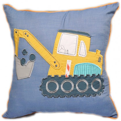 Contruction Digger Pillow