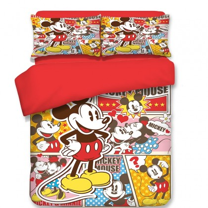 Mickey Mouse Duvet Cover Set A