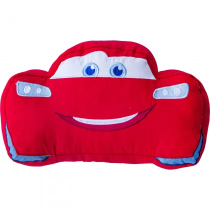 Disney/Pixar Cars Lightning McQueen Red Plush Cuddle Pillow Cushion Toy