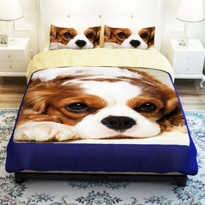 Cocker Spaniel Dog Duvet Cover Set